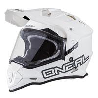 オニール シエラ II ヘルメット フラット ホワイト
