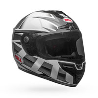 Casque Cloche Srt Gloss Noir Blanc