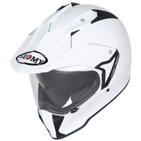 Suomy Mx Tourer Plain White