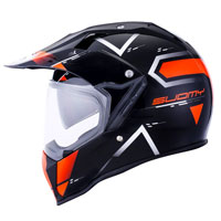 Suomy Mx Tourer Road Orange