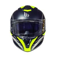 Mt Helmets Targo Doppler A1 Matt Yellow