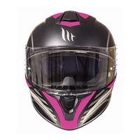 Mt Helmets Targo Doppler A3 Rosa Opaco