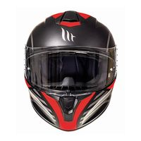 Mt Helmets Targo Doppler A0 Matt Red