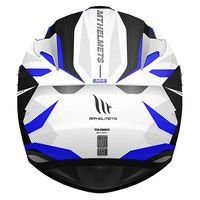 Mt Helmets Targo Enjoy D7 White Blue