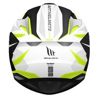 Mt Helmets Targo Enjoy D3 White Yellow