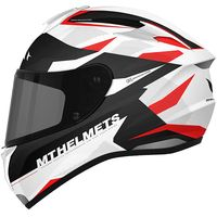Mt Helmets Targo Enjoy D5 White Red