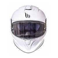 Mt Helmets Targo Solid A0 White