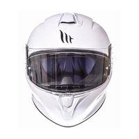 Mt Helmets Targo Solid A0 Bianco