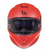 Mt Helmets Targo Solid A5 Matt Red