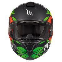 Mt Helmets Targo Truck A2 Matt Yellow