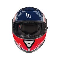 Mt Helmets Thunder 3 Sv Kingdom A1 White Blue