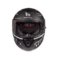 Mt Helmets Thunder 3 Sv Board Matt Black White