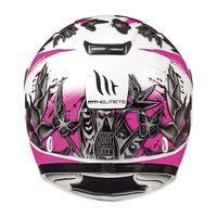 Mt Helmets Thunder Breeze D8 Kid Pink White Kid
