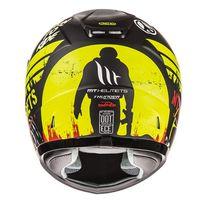 Mt Helmets Thunder Sniper Kind matt-schwarz gelb - 3