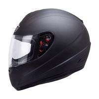 Mt Helmets Thunder Solid Kid Matt Black Kid