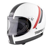 Premier Trophy Do8 Helmet White Black Red