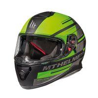 Mt Helmets Thunder 3 Sv Pitlane C6 Green