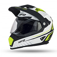 Casco Ufo Aries amarillo fluo