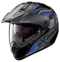 X-lite X-551 Gt Kalahari N-com Nero Opaco Blu