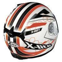 X-lite X-661 Honeycomb N-com White Black Red