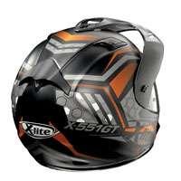 X-lite X-551 Gt Kalahari N-com Nero-arancio