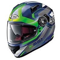 X-lite X-661 Motivator N-com Imperator Blu Green