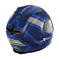 X-lite X-661 Comrade N-com Helmet Imperator Blu