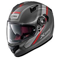 x-Lite の x-661 同志の N-Com のヘルメットの溶岩
