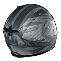 X-lite X-661 Extreme Titantech Honeycomb N-com Flat Titanium