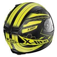 X-lite X-661 Honeycomb N-com Giallo