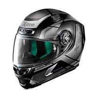 x-lite の x-803 アジャイルヘルメットフラットブラックグレー