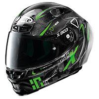X-lite X-803 Rs Ultra Carbon Darko Nero Verde