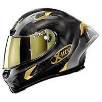 X-lite X-803 Rs Ultra Carbon Golden Edition Oro - 2