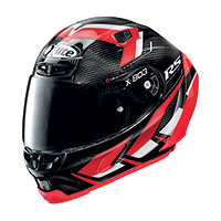 X-lite X-803 Rs Ultra Carbon Motormaster Rosso