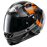 X-lite X-803 Rs Ultra Carbon Tatanka Arancio