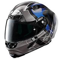 X-lite X-803 Rs Ultra Carbon Tatanka Grigio Blu
