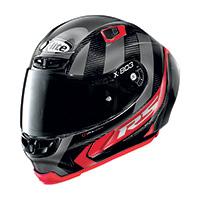 X-lite X-803 Rs Ultra Carbon Wheelie Rosso