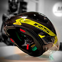 X-lite X-803 Rs Ultra Carbon Helmet Hot Lap Yellow