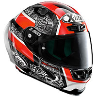Casco X-lite X-803rs Ultra Carbon Replica Petrucci - 2