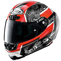 Casco X-lite X-803rs Ultra Carbon Replica Petrucci