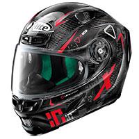 X-lite X-803 Ultra Carbon Darko Nero Rosso