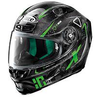 X-lite X-803 Ultra Carbon Darko Nero Verde
