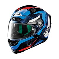 X-lite X-803 Ultra Carbon Mastery Full Face Helmet Carbon Tinto Blue