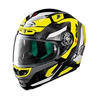 X-lite X-803 Ultra Carbon Mastery Full Face Helmet Carbon Black Yellow
