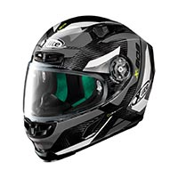 X-lite X-803 Ultra Carbon Mastery Full Face Helmet Carbon Black White