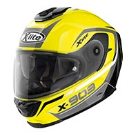 X-lite X-903 Cavalcade N-com Full Face Helmet Led Yellow