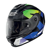X-lite X-903 Ultra Carbon Archer N-com Blu Lime
