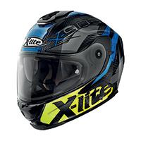 X-lite X-903 Ultra Carbon Barrage N-com Blu Giallo
