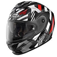 X-lite X-903 Ultra Carbon Creek N-com Nero Rosso