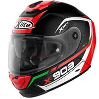 X-lite X-903 Cavalcade N-com Nero Rosso Verde